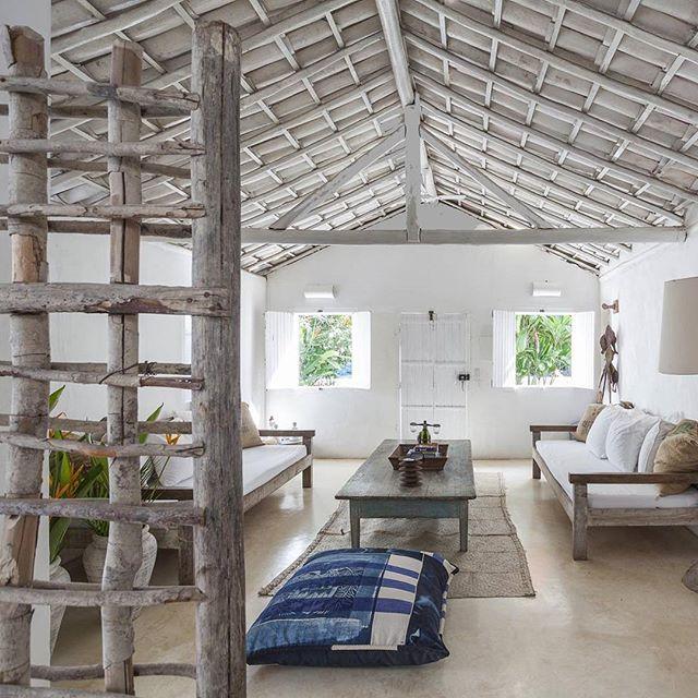tranquilidade da casa Seu Irênio #Uxua #Trancoso #Bahia #Brazil #Travel #SouthAmerica #Tropical #Paradise #home #casa #quadrado ph @tucareines