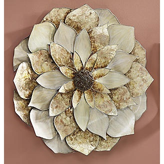 Capiz Flower From Seventh Avenue 174 Home Wall Decor