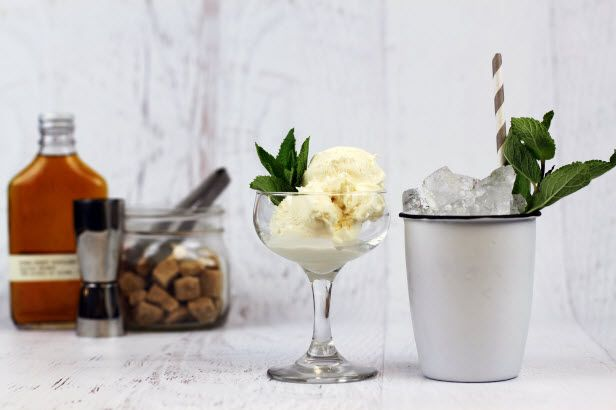 Kentucky #Derby Recipe: King's County Mint Julep Ice Cream (http://blog.hgtv.com/design/2014/04/29/kentucky-derby-recipe-kings-county-mint-julep-ice-cream/?soc=pinterest)