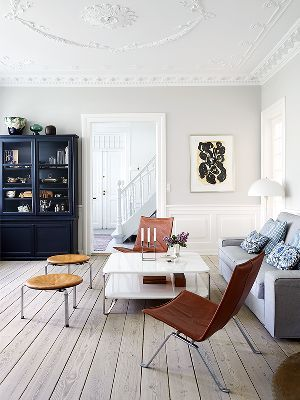 Move Over, All Whiteu2014Scandinavian Decor With Pale Grey / White Wood Flooring Part 94