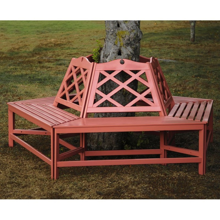 Achla Designs Chippendale Tree Bench
