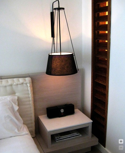 :: BEDROOMS :: circa lighting, keeping the bedside tables clear