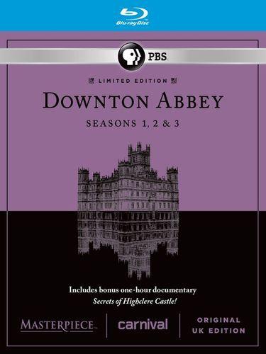 Masterpiece: Downton Abbey - Seasons 1-3 [9 Discs] [Blu-ray]