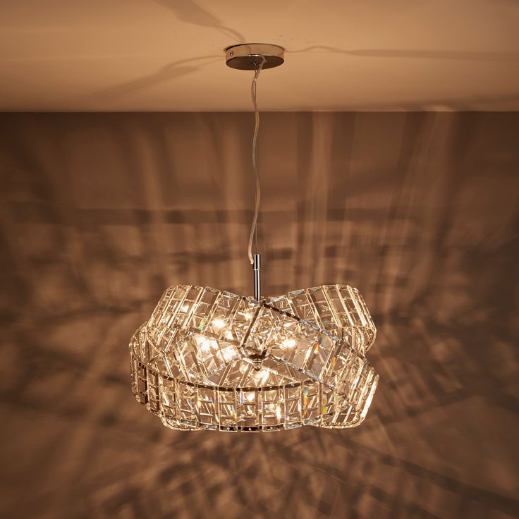 Sagitta Chrome Effect 3 Lamp Pendant Ceiling Light Ceiling Lights Pendant Lamp Lounge Lighting