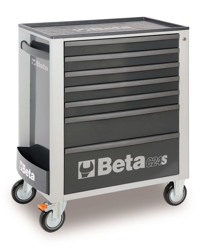 beta tools 7 drawer tool storage rolling tool box c24s