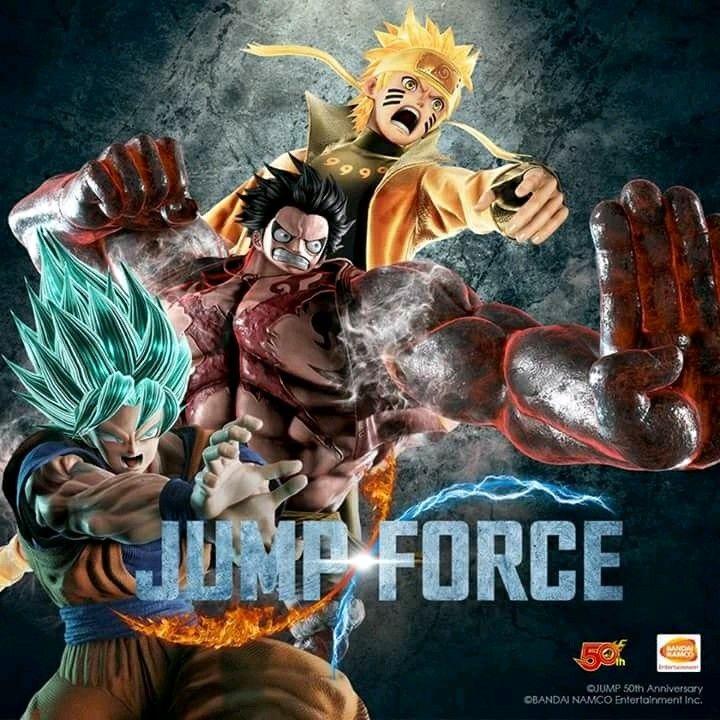 Jump Force 2019 Anime Crossover Super Saiyan Blue Anime