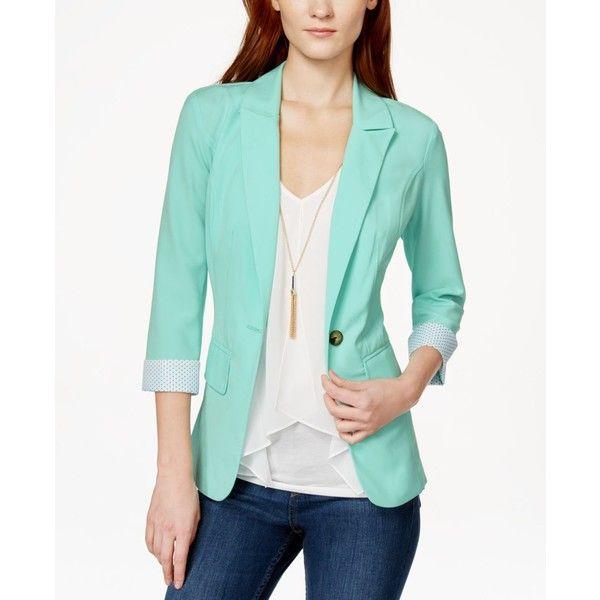 The 25  best Mint green blazer ideas on Pinterest | Mint blazer ...