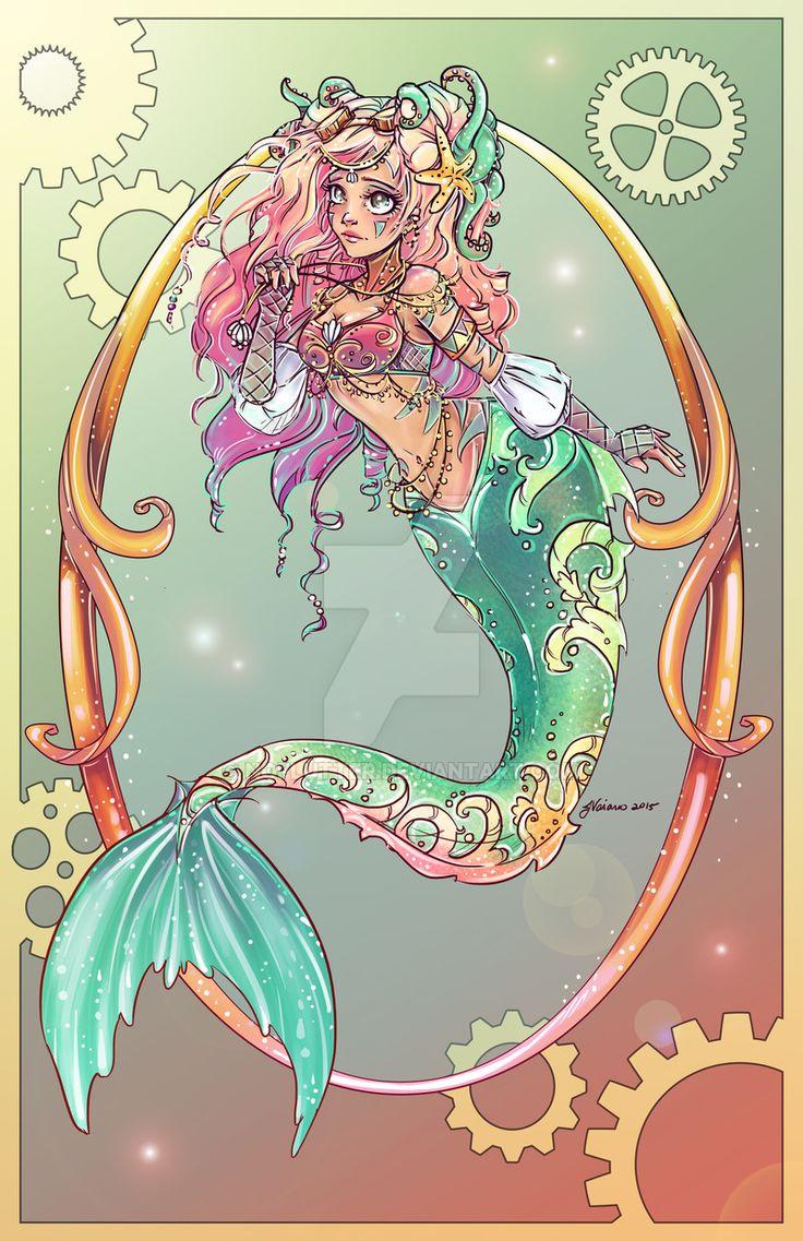 Little Mermaid by NoFlutter.deviantart.com on @DeviantArt
