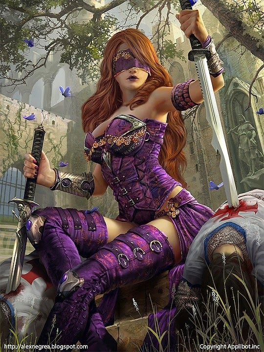Legend of the cryptids illustrations by alex Negrea | Brain's Sparks #Legend of the #cryptids #art #fantasy #pinup #sexy