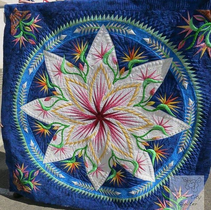 Paradise In Blooms Quiltworx Com Made By Sew Peaceful