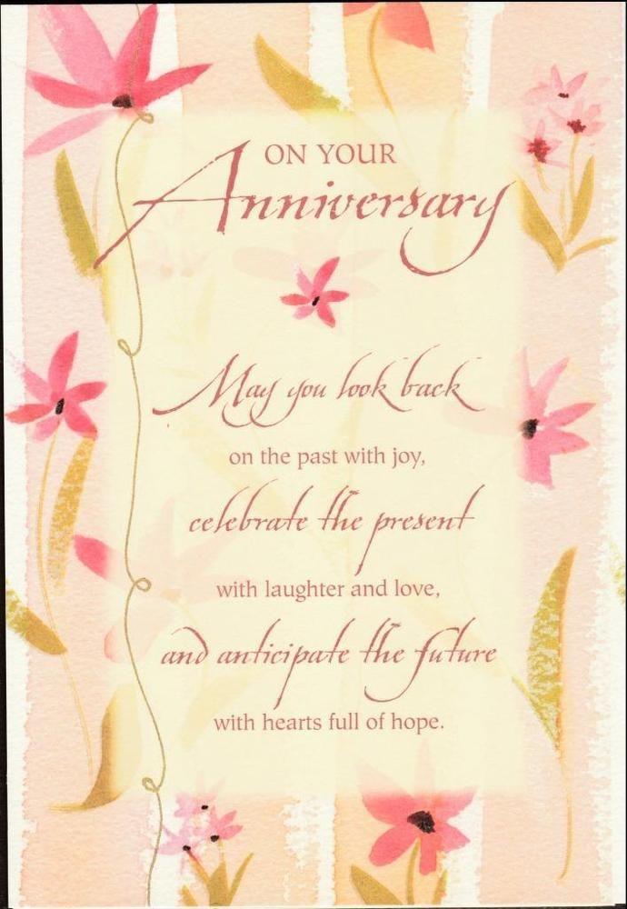 Christian Greeting Card On Your Anniversary Dayspring