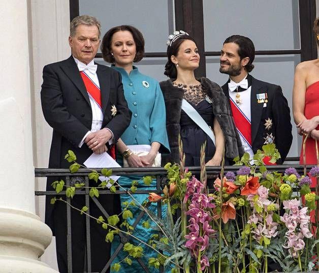 Pariskunta edusti hiljattain Oslossa Norjan kuningatar Sonjan 80-vuotisjuhlissa, joihin osallistuivat myös Suomen presidentti Sauli Niinistö ja rouva Jenni Haukio.