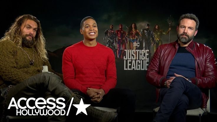 'Justice League': Ben Affleck, Jason Momoa & Ray Fisher Talk About Their...