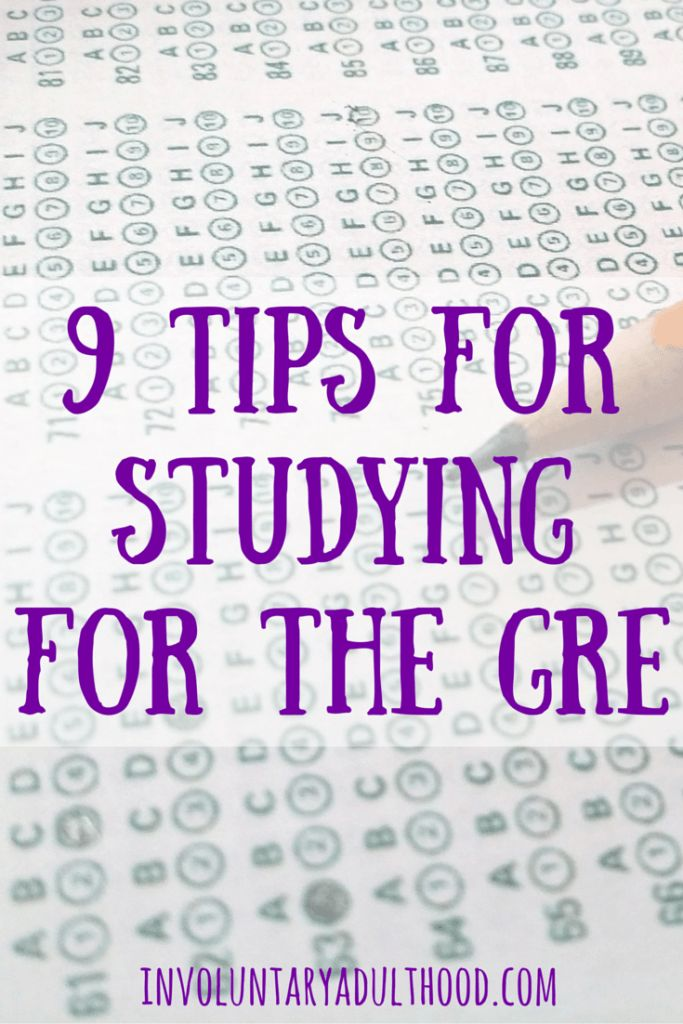 If grad school is in your future, you're probably going to need to take the GRE. Here are some great tips on studying for the GRE to get a higher score!