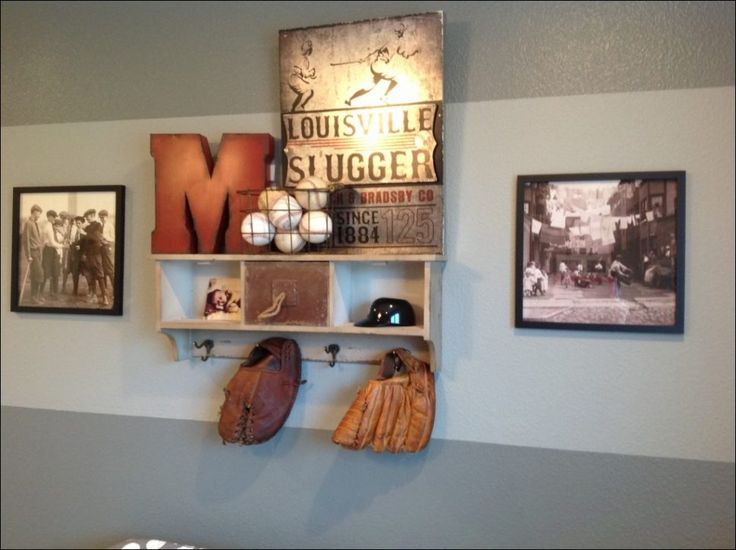 Image Result For Baseball Wall Decor