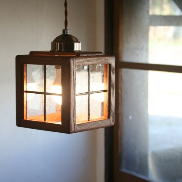 ステンドグラス照明 houze stend small ブラウン|照明(ライト)・ランプ|ハンドメイド通販・販売のCreema