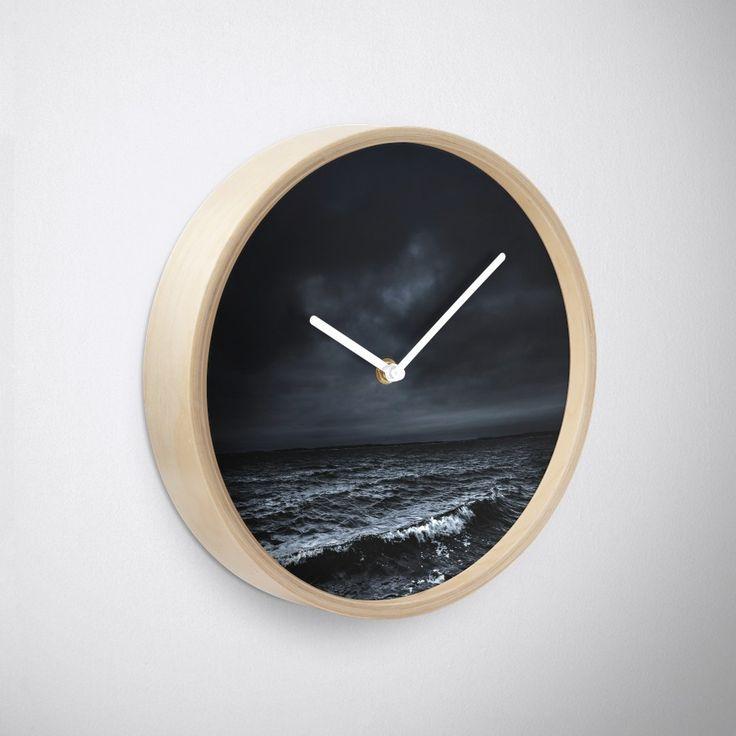'I´m fading' Clock by HappyMelvin. #ocean #sea #nature #photography #wanderlust #walldecor #clocks