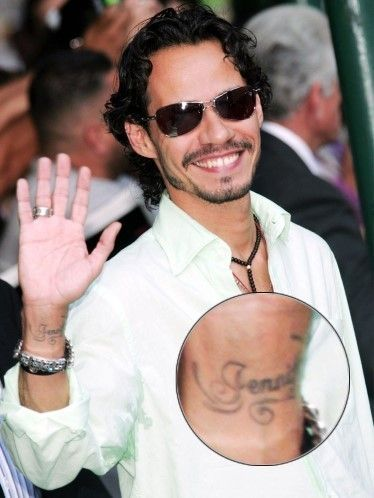 17 best images about famosos con tatuajes on pinterest for Marc anthony neck tattoo