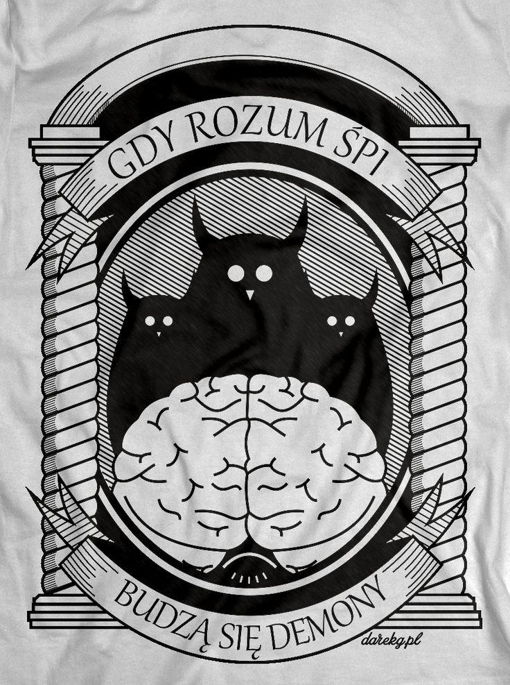 Co dzieję się gdy nad wiedzą, mądrością i opanowaniem zaczyna górować ciemnota? Rozum usypia… budzą się demony… upiory…   http://www.youtube.com/watch?v=3wXsLeJfFSY   Serdecznie pozdrawiam zespół Percival Schuttenbach  Do kupienia w: http://darekgkropkapl.cupsell.pl/produkt/900182-Gdy-rozum-pi-m-ska-.html