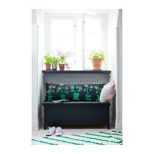 s llskap bank mit aufbewahrung ikea nooks stairways corridors pinterest ikea b nke. Black Bedroom Furniture Sets. Home Design Ideas
