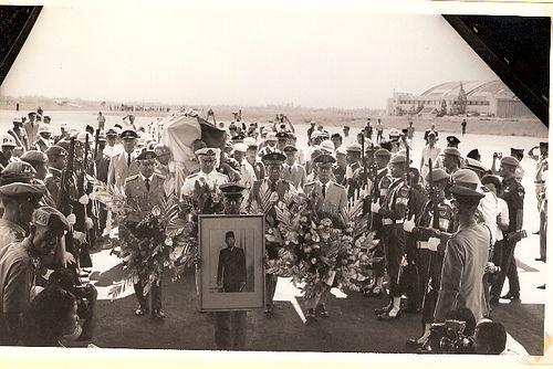 Soekarno's funeral