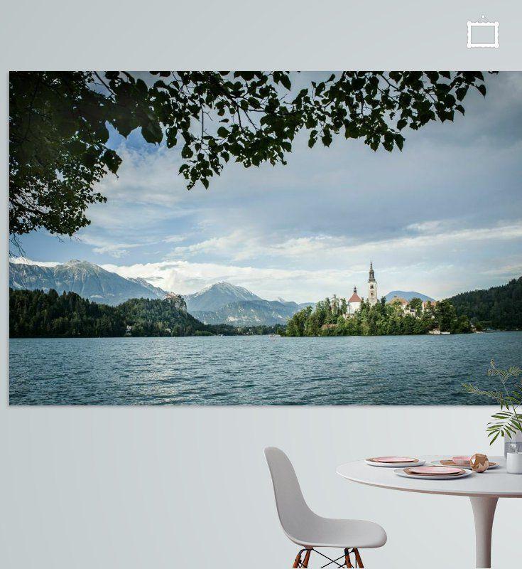 Nieuw in mijn Werk aan de Muur shop: Bled Slovenie