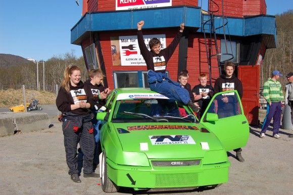Fredrik Tålesen vant Bilcross JR Challenge 2013