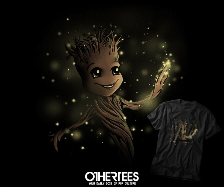 """WE ARE GROOT"" T-shirts, Tank Tops, V-necks, Hoodies and Sweatshirts are on sale until November 11th at www.OtherTees.com #tshirt #othertees #clothes #popculture #groot #guardiansofthegalaxy #gotg #marvel #comics"