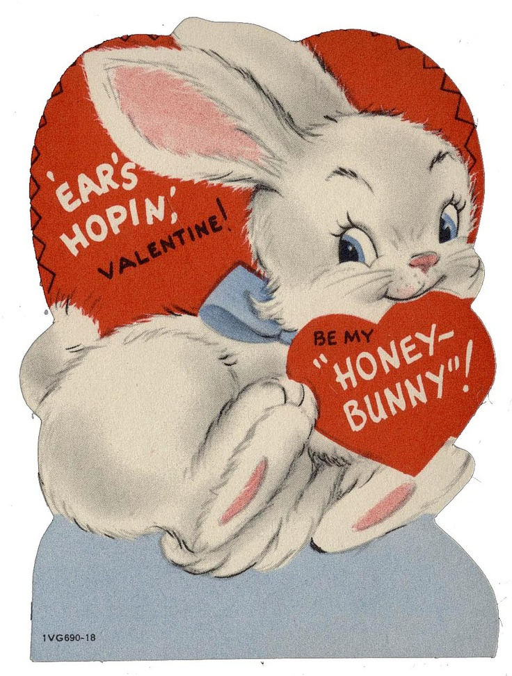 Amazing Bunny Valentine Cards Contemporary   Valentine Gift Ideas .