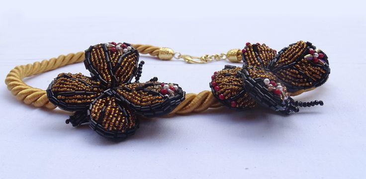 Collana Artigianale - Farfalle. Gioielli unici e originali