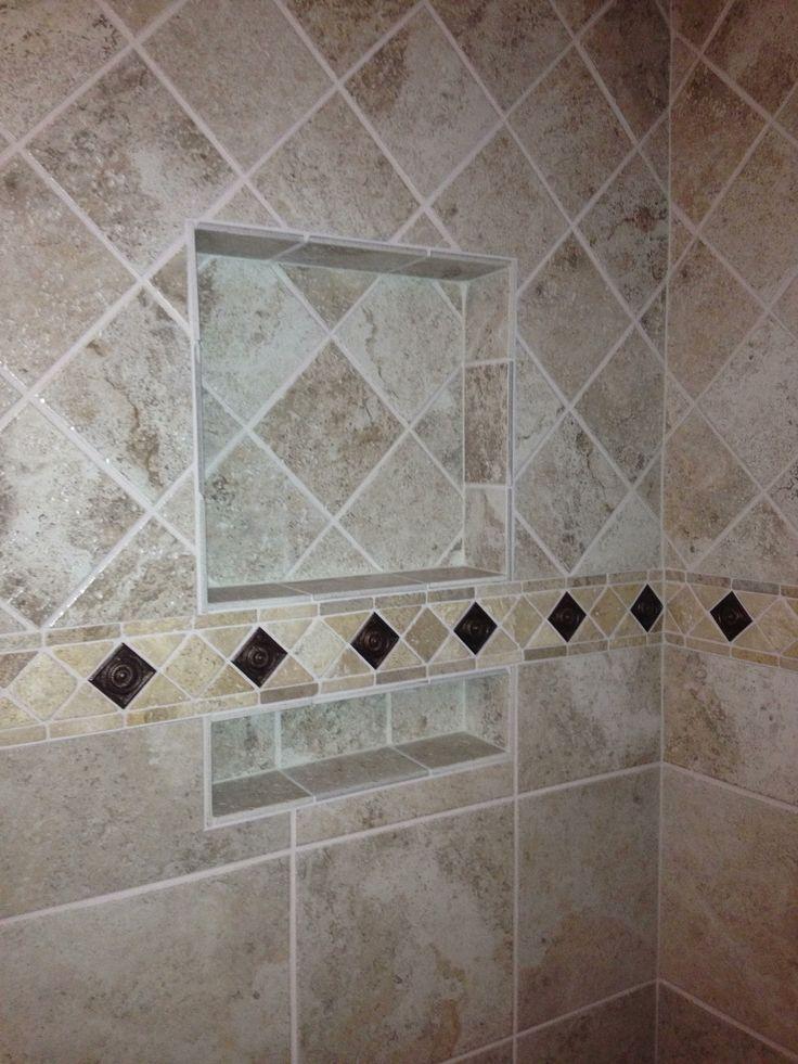 Tile Pattern Change Upper Tile Diamond Pattern Lower