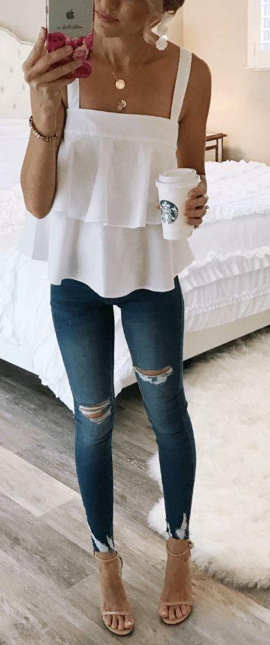 26 Ultimative Sommeroutfits für Frauen, die sich selbst inspirieren Ultimative Sommeroutfits für Frauen, die sich selbst inspirieren. einfach zu tragen und bieten Komfort ...