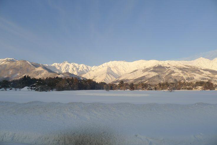 The Mountains in Hakuba, Japan