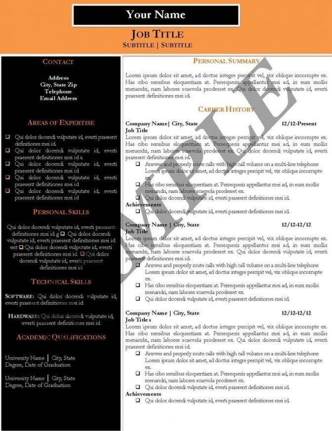 Resume Templates 101 Vorlagen Lebenslauf Lebenslauf