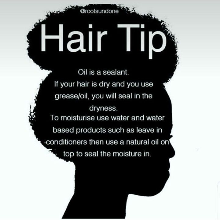 Dry hair? Use water or a water based moisturizer, then oil, then butter or cream.