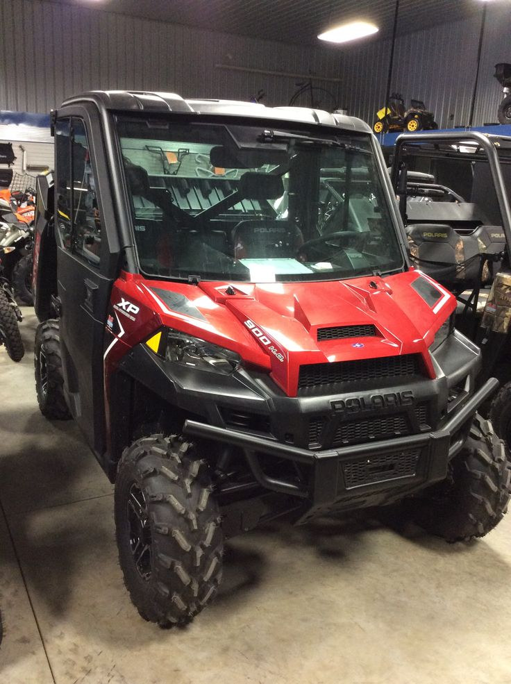 2016 Polaris Ranger 900 Northstar in Sunset Red This will ...