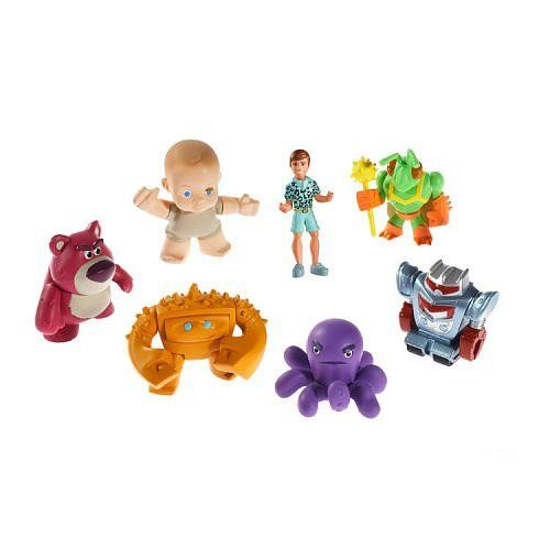 Disney Pixar Toy Story 3 Buddy Figures 7-Pack - Lotsos Gang @ niftywarehouse.com #NiftyWarehouse #Toy #Story #Movie #ToyStory #Pixar