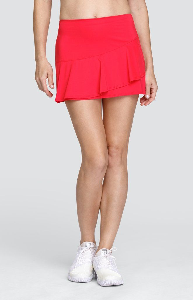 Caroline Skort Teaberry 13 5 Length In 2020 Active Wear For Women Womens Tennis Fashion Tail Activewear