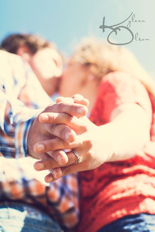 """Natural Light On Location Southern Minnesota Portrait Photography by Kyleen Olson: ~C~ She said """"YES!"""" {Traveling Engagement Photographer}"""