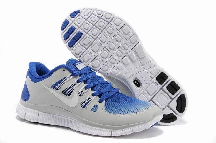 Mens Nike Free 5.0 Breathe Hyper Blue White Pure Platinum Shoes Discount Store cheapest only $39