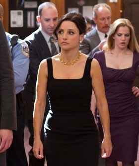 Veep Interview - Ernesto Martinez Costumes -  Julia Louis Dreyfus | Refinery29 gets the scoop on how to dress for work in Washington, with help from Ernesto Martinez, costume designer for Veep. #refinery29 http://www.refinery29.com/veep-costume-designer-interview