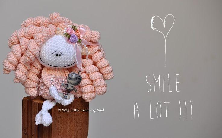 """Nouvelle collection """"lucky charm dolls"""" - Little Inspiring Soul : l'atelier de l'inspiration et du crochet"""
