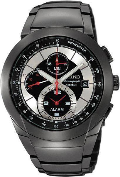 9b98a6c9f1e Seiko Chronograph Tachymeter 100M Men s Watch SNAB35P1