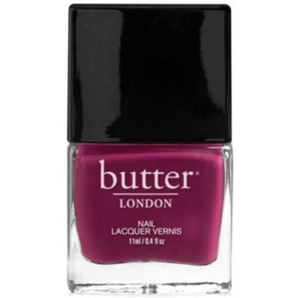 Butter London Nail Lacquer Nail Polish, Queen Vic ($9.59) ❤ liked on Polyvore featuring beauty products, nail care, nail polish, fillers, nail, purple, butter london nail polish, butter london nail lacquer and butter london
