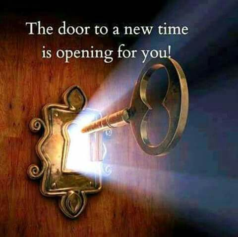 A door to a new time is opening for you! Thank you Universe!! ❤
