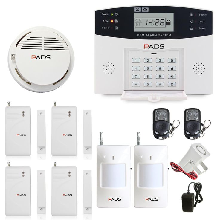 99 Wireless 8 Wired Zone Auto Dial And SMS LCD Display Voice Intercom Home Security Burglar Alarm System GSM Fire Alarm System