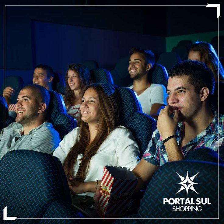 Nosso cinema traz o que há de melhor no mundo das telonas.  #cinemaénoportalsul