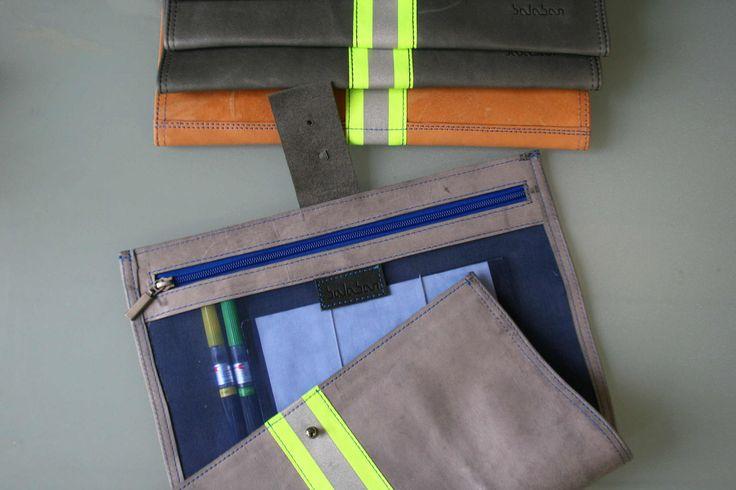 https://flic.kr/p/Dc7PKG | balabanbags 16.40 grey leather with phosphor band