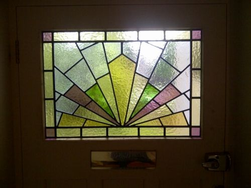Art deco stained glass-084