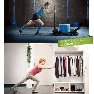 Campagne contre les troubles musculo squelettique avec la compagnie d'assurance MGEN - Mamedy Doucara ©